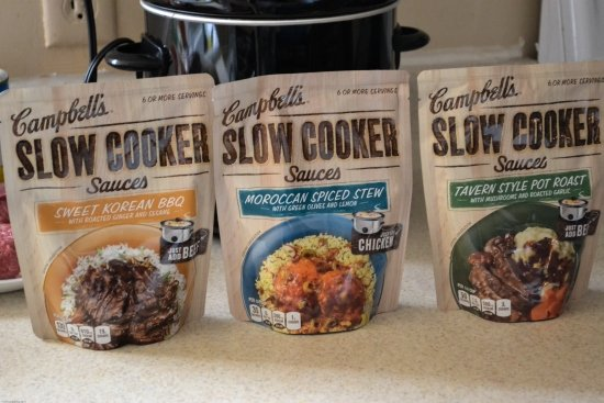 Campbell's Slow Cooker Sauce, Easy Slow Cooker recipes, easy family meals, easy crock pot recipes, #CampbellsSkilledSaucers, #AD
