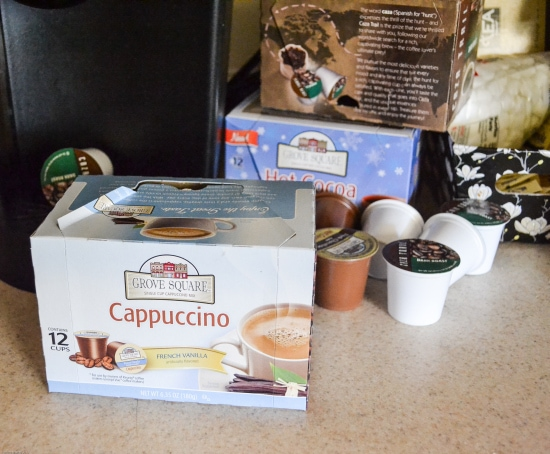 Caza Coffee, Grove Trails single serve beverage, k-cup coffee