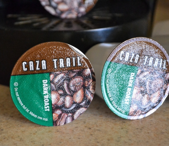 Caza Trail Coffee, single cup beverages,