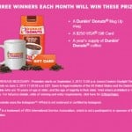 December Dunkin' Donuts Coffee #DunkinMugUp Contest