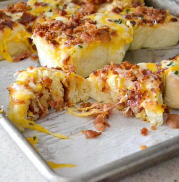 Bacon Cheddar recipe, Cheesy Roll recipe,