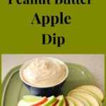 Fluffy Peanut Butter Apple Dip #KraftHoliday