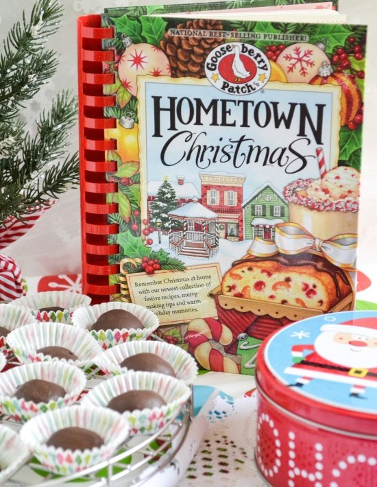 Gooseberry Patch, Hometown Christmas Cookbook, homemade holidays, Raspberry Jellies recipe, homemade candy, old recipes