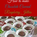 Chocolate Raspberry Jellies Candy
