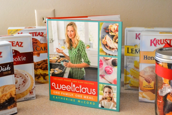 Krusteaz baking mixes, weelicious cookbook, live event, holiday baking event