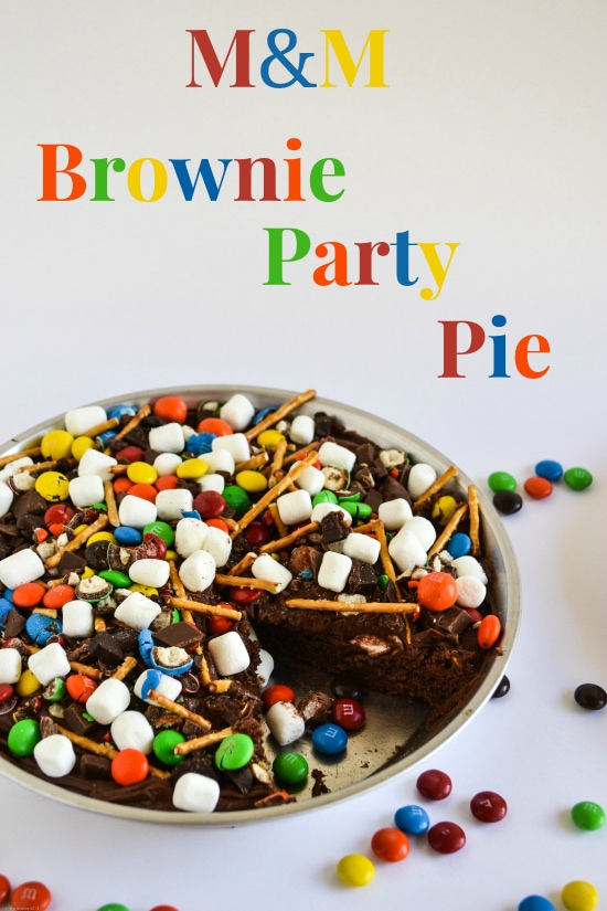 #shop, Baking, M&Ms, Baking with Chocolate, Class party recipes, Baking Cookies, Baked goods, Office Party Recipes , Kids Party Ideas, Holiday Brownie Pie