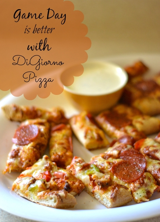 game day recipe, game day is better with DiGiorno, Game Day Pizza, Easy Game Day Recipes