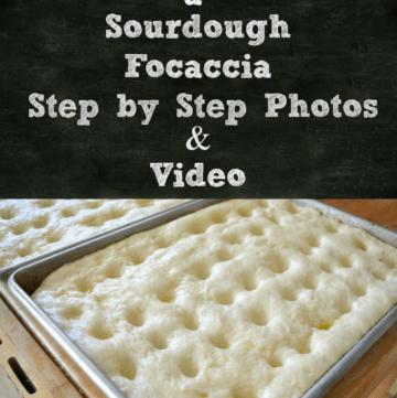 Sourdough Focaccia dough