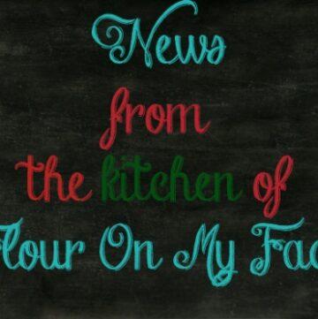 news from flouronmyface