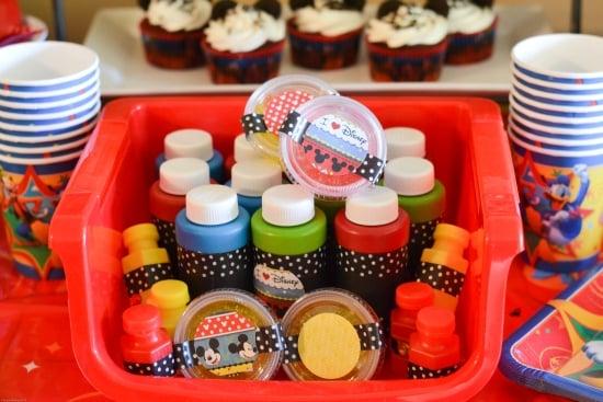 Disney Party Favors, Customized Disney Party Favors, DIY Party Favors