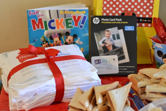 Mickey Mouse Party, Home Celebrations, #DisneySide Party, HP Printer Paper, Hanes T-Shirts