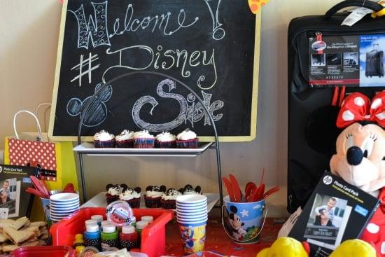 Disney Side, #DisneySide, Disney Party, Disney Party Decorations,