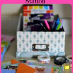 DIY Greeting Card Station