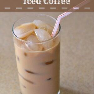 Coconut Iced Coffee, Dunkin' Donuts Coconut Coffee