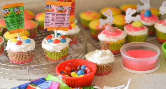 Easter Cupcakes, HERSHEY Candy Cupcakes, Easter Cupcakes