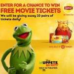 Muppets Most Wanted Movie Tickets | Score a Lipton Tea Coupon