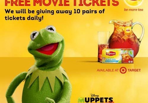 Lipton Coupon, Muppets Most Wanted Movie, Target