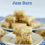 Peach Almond Jam Bars Recipe | Vintage Recipe