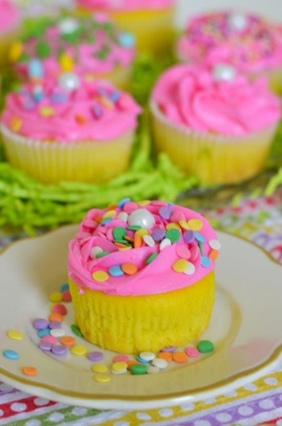 Easter Cupcake, Easy Easter Cupcakes, Lemon Cupcakes