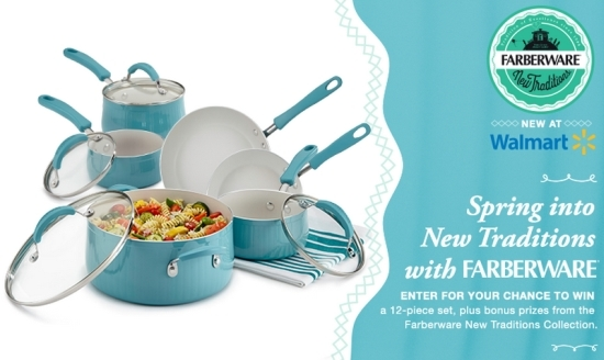 Farberware New Traditions Cookware Giveaway