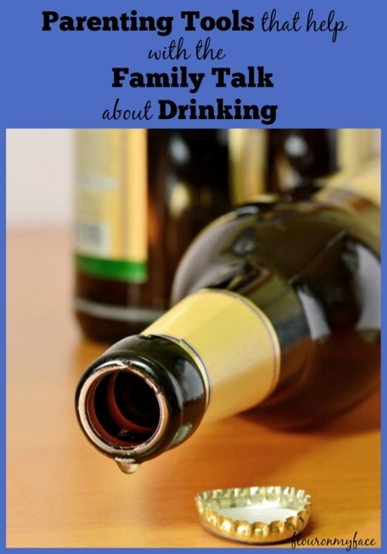 #FamilyTalk, Teens Drinking, How to talk to teens about drinking, Parenting Tips, #spon