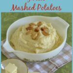 Roasted Garlic Mashed Potatoes #NewTraditions