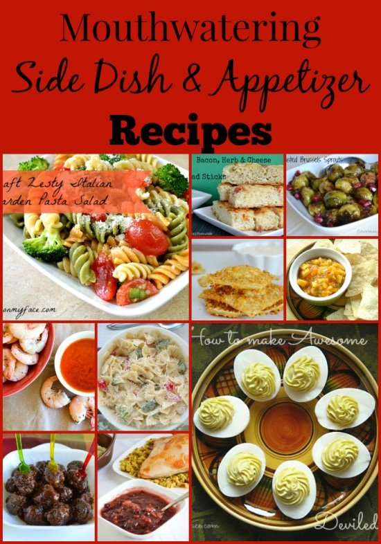 side dish recipes, appetizer recipes, flouronmyface recipes