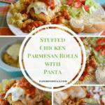Stuffed Chicken Parmesan Rolls