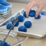 how to make cake pops, deep blue book,