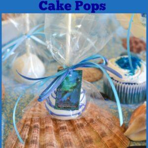 DEEP BLUE, Deep Blue Cake Pops, Jennifer Donnelly, Disney Books, Young Adult Books, WaterFire Saga