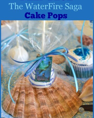 DEEP BLUE, Deep Blue Cake Pops, Jennifer Donnelly, Disney Books, Young Adult Books, WaterFire Saga