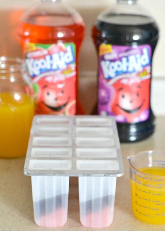 Kool-Aid Ice Pops, Summer frozen treats, #KoolOff, Kool-Aid bottles