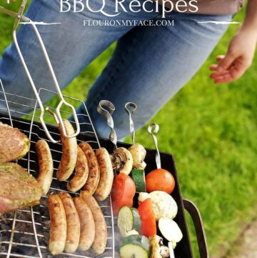 featured image for Memorial Day BBQ Recipes via flouronmyface.com