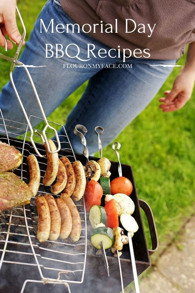 Memorial Day BBQ Recipes via flouronmyface.com