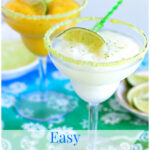 Easy Frozen Margarita recipe, Fruttare, Frozen Fruit Bars, frozen cocktail recipes, summer cocktail recipes