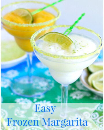 Easy Frozen Margarita recipe, Fruttare, Frozen Fruit Bars, frozen cocktail recipes, summer cocktail recipes