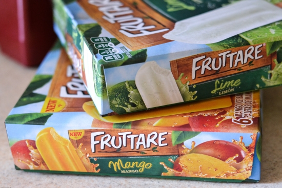 Fruttare Frozen Fruit Bars, Mango fruit bars, lime fruit bars, frozen fruit bar recipe, Fruttare recipes