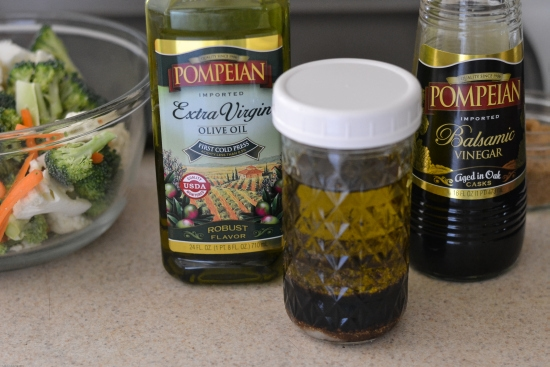 Pompeian Extra Virgin Olive Oil, Roasted vegetables, Balsamic vinegar recipes