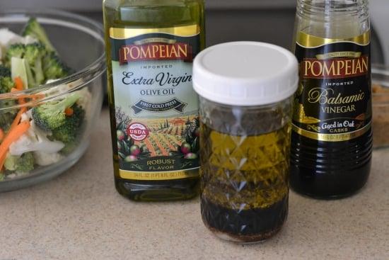 Pompeian Extra Virgin Olive Oil, Roasted vegetables, Balsamic vinegar recipes