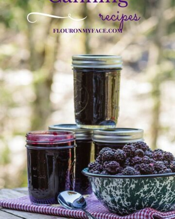 Canning and preserving recipes page image