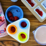 Healthy Raspberry Kefir Ice Pops #KefirCreations