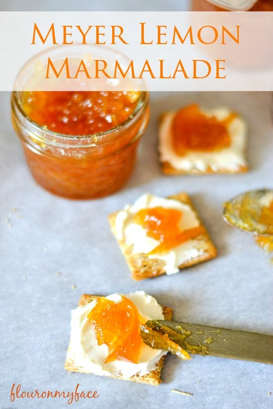 Meyer Lemon Marmalade, meyer lemons, canning recipes, Food In Jar recipes