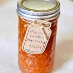 Meyer Lemon Marmalade, canning recipes, marmalade recipe via flouronmyface.com