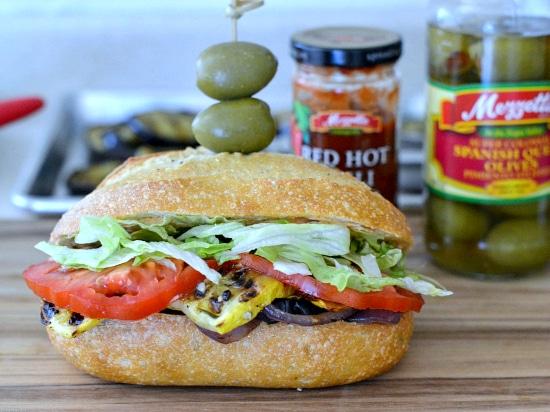 Grilled Vegetable Sandwich #makethatsandwich