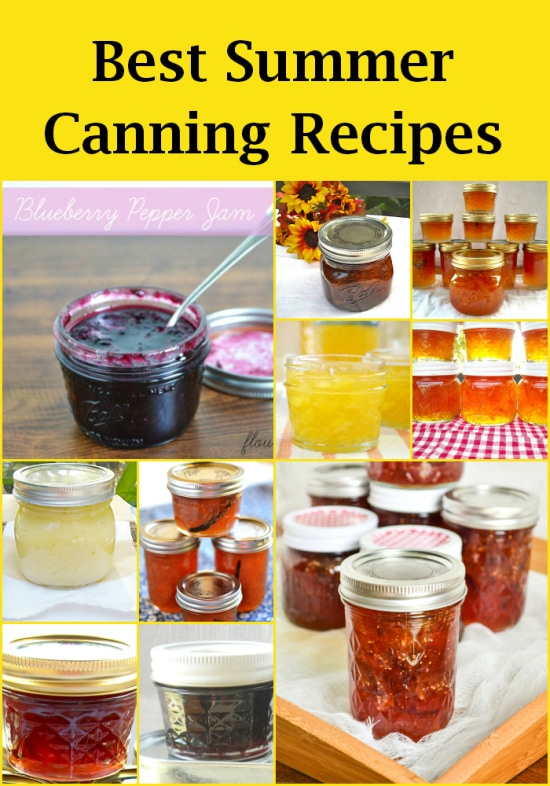 canning recipes, jam recipes, Jam & Jelly Maker recipes, summer canning,