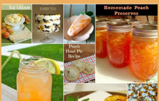 Peach Recipes, Summer Peach Recipes, Peaches, Fresh Peach recipes