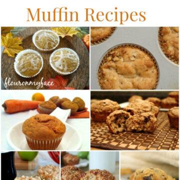 25 Fall Muffin Recipes, Fall recipes, muffin recipe