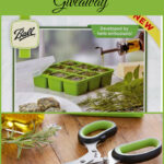 International Can It Forward Day Ball Herb Scissors & Frozen Herb Starter Giveaway #canitforward