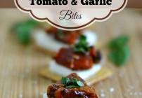 Balsamic Roasted Tomato Garlic Bites, Triscuit, #TriscuitSnackoff