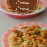 Blackened Shrimp Scampi, Shrimp Scampi recipe, #PantryInsiders